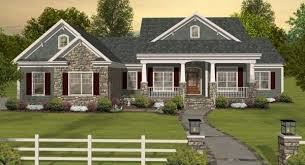 Popular Ranch House Plans   DFD House PlansThe combination of country style and craftsman detailing give House Plan one of the most impressive and beautiful façades you    ll anywhere