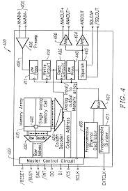 patent us7298670 integrated circuit with analog or multilevel on 4 x 16 decoder schematic