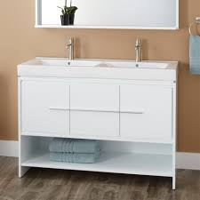 size bathroom wicker storage:  large size of comfortable oak wooden unvarnished white bowl double undermounted sink vanity cabinet white wooden