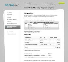 business proposal templates the proposable blog example social media template