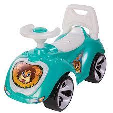 <b>Каталка Орион Машина</b> для катания детей, <b>бирюза</b>, <b>758</b> ...