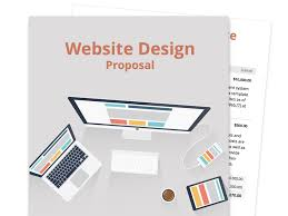 business proposal templates website proposal template