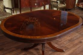 Ebay Dining Room Sets Oval Mahogany Dining Table Reproduction Antique Dining Room Ebay