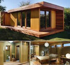 Modern Tiny Home Plans Plan  Small House Plan  Small Modern Guest        Modern Tiny Home Plans Wooden Modern Small House Plans   Small Dwellings Of Every Shape And