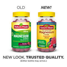Nature Made <b>High Absorption Magnesium</b> Citrate 200mg Gummies ...
