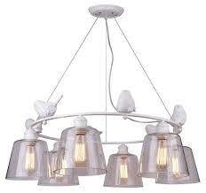 <b>Люстра Arte Lamp</b> Passero <b>A4289LM</b>-<b>6WH</b>, E27, 240 Вт — купить ...
