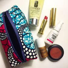 African <b>print makeup bag</b>! | Ankara bags, Bags, <b>Printed</b> bags