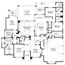 First Floor Plan of Mediterranean Tuscan House Plan   No need    First Floor Plan of Mediterranean Tuscan House Plan   No need for nd floor