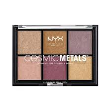 Тени для век NYX Professional Makeup Cosmic <b>metals</b> eyeshadow ...