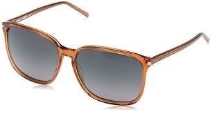 <b>Yves Saint Laurent</b> Women's SL <b>37</b> 6J6 Sunglasses, Grey (Brown ...