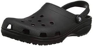 crocs Unisex Classic Clog, Black, 10 US Men / 12 US ... - Amazon.com