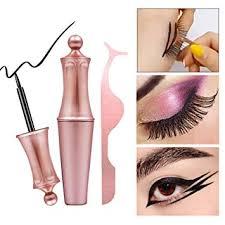 Buy Takefuns 2 PCS Women <b>Magnetic Liquid Eyeliner</b> Tweezers Kit ...