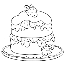 Small Picture Cupcake Strawberry Coloring Page cupcake sweets Pinterest