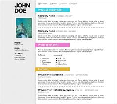 free resume templates download resume templates word free download