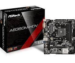 <b>ASRock</b> > <b>AB350M</b>-<b>HDV</b>