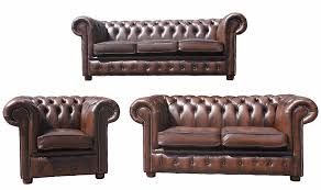 chesterfield sofa brown leather london english 3 2 1 seater chesterfield sofa leather 3