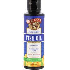 Barleans Organic Oils Barleans <b>Fresh Catch Fish Oil</b>, 8 oz - Walmart ...