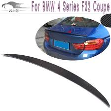 Carbon Fiber <b>Rear Spoiler</b> for BMW 4 Series <b>F32</b> 428i 435i Coupe ...