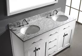 white double sink bathroom caroline  inch double sink bathroom vanity in white by virtu usa