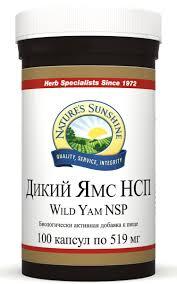 NSP- Natures Sunshine Дикий Ямс <b>100 капсул</b> по 519 мг — купить ...