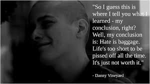 danny vinyard essay  american history x essays