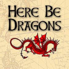Image result for here be dragons + images