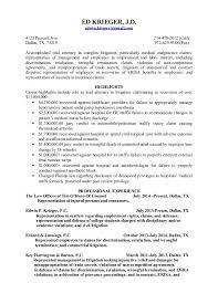 resume re litigation initialresume re litigation initial  ed krieger  j d  edwin krieger gmail com prescott ave
