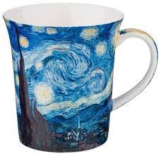 Lefard <b>Кружка Звездная ночь (В</b>. Ван Гог) 420 мл — купить по ...