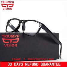 <b>TRIUMPH VISION</b> Acetate Big Frame <b>Glasses</b> Unisex <b>Prescription</b> ...
