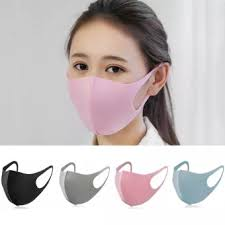 <b>Washable Earloop</b> Face Mask 3D <b>Ice</b> Silk <b>Cotton</b> Cycling Anti Dust ...