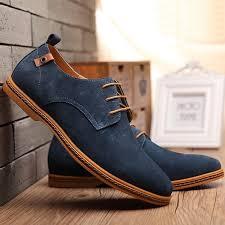 <b>Men Shoes</b> 2019 New Suede <b>Genuine</b> Leather <b>Men Casual Shoes</b> ...