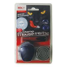 <b>Печать самонаборная Colop Stamp</b> Mouse R40/2 SET карманная ...