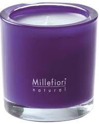 <b>Ароматическая свеча Цветочная</b> мелодия Millefiori Milano Natural ...