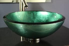inspiration glass bathroom sinks