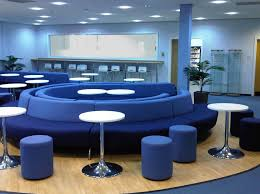 beautiful blue office room design blue office room design