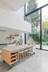 kitchen island mobile: mobile kitchen island ideas by sculpit architecten