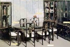 italian lacquer dining room furniture black lacquer dining room