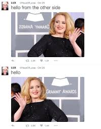 Hello,' it's Monday: 7 great Adele memes to get you through the week via Relatably.com