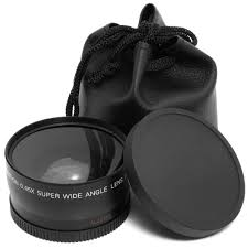 <b>58MM 0.45x Wide Angle</b> Lens + Macro Lens for Cannon 5D/60D ...