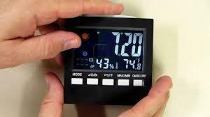 Otao <b>Humidity</b> Meter Color <b>Digital</b> LCD Screen Multi-functional ...