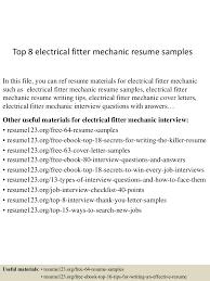 topelectricalfittermechanicresumesamples lva app thumbnail jpg cb