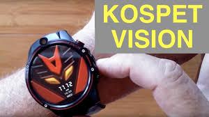 <b>KOSPET VISION 4G</b> Smartwatch is Thor 4 <b>Dual</b> + Thor Pro 1.6 ...