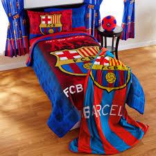 barcelona fcb soccer bedding sheet set barcelona bedroom