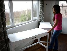 ana white desks that convert to table for our tiny house on wheels diy projects ana white build office
