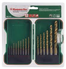 <b>Набор сверл Hammer</b> 202-918 DR set No18, 15 шт. — купить по ...