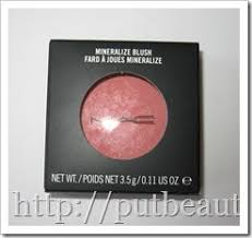 MAC Dainty Blush - Writing Beauty