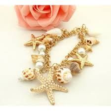 Preferred 55% OFF Ocean Sea <b>Shell</b> Starfish Faux Pearl Bracelets ...