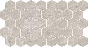 <b>Мозаика Caramelle mosaic Marble</b> Porcelain Nuvola grigio ...