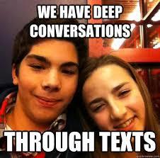 Middle school couple memes | quickmeme via Relatably.com