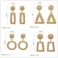 <b>New design creative jewelry</b> high grade Vintage metal earrings ...